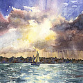 Anne Gifford - Sailing into the Sunset