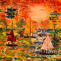 Denise Tomasura - Sunset Sailing
