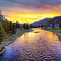 Bob Johnston - Sunset Yellowstone...
