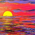 Melissa Darnell Glowacki  - Surreal Sunset