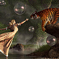 Daniel Eskridge - Surreal Tiger Bubble...