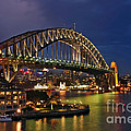 Kaye Menner - Sydney Harbour Bridge by...