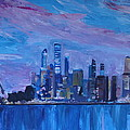 M Bleichner - Sydney Skyline with...