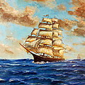 Lee Piper - Tall Ship On The South...