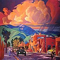 Art West - Taos Inn Monsoon