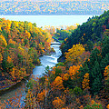Paul Ge - Taughannock river canyon...