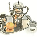 Kip DeVore - Tea Service with Orange