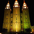 Jeff  Swan - Temple In Salt Lake City
