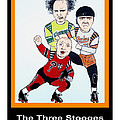 Jim Fitzpatrick - The 3 Stooges Playing...