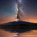 Mario Carini - The Burj Over Mount Fuji