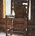 L Wright - The Chair Holds Memories