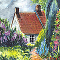 Carol Wisniewski - The Cottage Garden Path