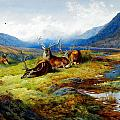 Archibald Thorburn - The Elks