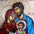 Ryszard Sleczka - The Holy Family Icon
