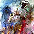 Evie Carrier - The Jazz Player