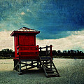 Sandra Selle Rodriguez - The Red Lifeguard Shack