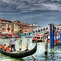 Ines Bolasini - The Rialto Bridge -...