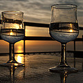 Catalina Lira - The sky in wine glasses...