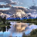 Dan Sproul - The Tetons From Oxbow...