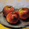 Mona Edulesco - The Three Apples