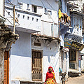 Didier Marti - The woman of Udaipur in...