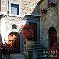 Barbie Corbett-Newmin - Three Doors in Bagnoregio