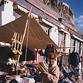 First Star Art  - Tibet Market at Gyantse...