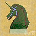Donna Huntriss - Topiary Horse With Horn