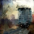 Evie Carrier - Train Crossing