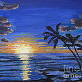 Mary Benke - Tropical Sunset