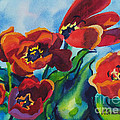 Kathy Braud - Tulips Blowing in the...