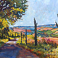 David Lloyd Glover - Tuscan Country Road
