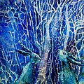 Trudi Doyle - Two Hares Contemplate an...