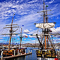 Lynn Bauer - Two Tall Ships
