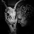 Ronda Broatch and Donna Van Renseelar - Untitled with Deer Skull