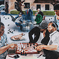 Shawn Morrel - Urban Moment 3- Chess at...