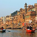 Amanda Stadther - Varanasi from the Ganges...