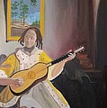 Denise Boineau - Vermeer The Guitar Player