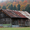 Juergen Roth - Vermont Barn and Fall...