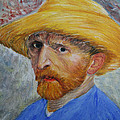 Marna Edwards Flavell - Vincent in Straw Hat...