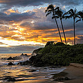 Hawaii  Fine Art Photography - Wailea Sunset