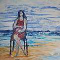Kathy Peltomaa Lewis - Waiting On The Beach