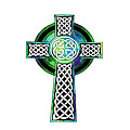 Kandy Hurley - Watercolor Celtic Cross...