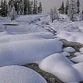 Sandra Bronstein - West Thumb Snow Pillows...