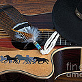 Dianne Phelps - Guitar and Hat with...