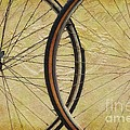 Liane Wright - Wheels Abstract