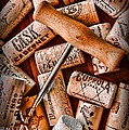 Paul Ward - Wine Corks with Corkscrew