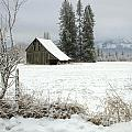 Idaho Scenic Images Linda Lantzy - Winter Barn