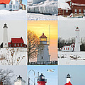 Michael Peychich - Winter Lighthouses in...
