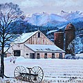 Shirl Theis - Winter on the Farm